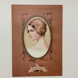 ヴィクトリアンカードセット[帽子の少女達]|tuliphouse