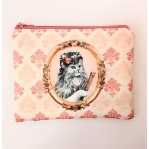 猫ポーチ  セブリーヌポーチS-A tuliphouse