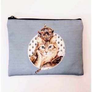 猫ポーチ  セブリーヌポーチS-B tuliphouse