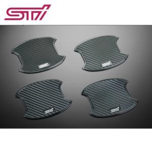 STI ドアハンドルプロテクター 4枚セット ST91099ST020 SUBARU エクシーガ/インプレッサ/レヴォーグ/WRX STI/S4/レガシィ/XVなど ゆうパケット対応|tuningfan-com