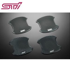 STI ドアハンドルプロテクター 4枚セット ST91099ST040 SUBARU インプレッサ GT/GK・XV GT ゆうパケット対応|tuningfan-com