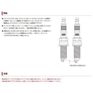 プラグ MR45HLZ HKS NGK9番相当 1本 エッチケーエス スーパーファイヤーレーシングプラグ 50003-MR45HLZ 在庫あり 送料無料 tuningfan-com 03