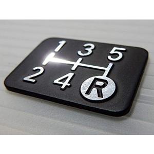 シフトパターンプレート ダイヤカット 5MT車用 Tuningfan SPP-K501 5速マニュアル 日本製 送料無料|tuningfan-com