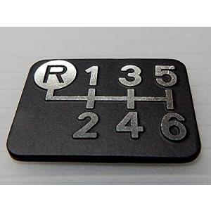 シフトパターンプレート ダイヤカット 左上リバース6MT車用 Tuningfan SPP-K601 6速マニュアル 日本製 ゆうパケット対応|tuningfan-com|03