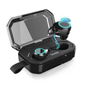 2019最新版 Bluetooth イヤホン ワイヤレス イヤホン Bluetooth5.0 EDR搭載 3Dステレオサウンド/ 携帯へ給電 turaronkon