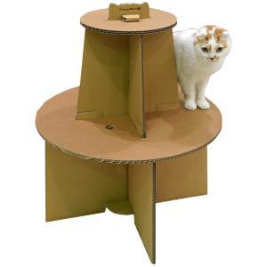 キャティーマン (CattyMan) ダンボールで作る猫ファニチャー にゃんテリア ミニツリー