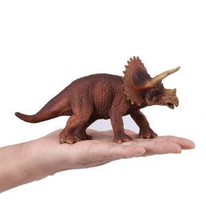 恐竜おもちゃ フィギュア 動物モデル プラスチック トリケラトプス恐竜 早期教育ツール パーティー用品 子供 赤ちゃん 幼児|turaronkon