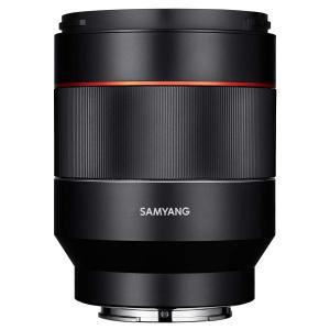 SAMYANG 単焦点標準レンズ AF 50mm F1.4 ソニー αE用 フルサイズ対応 ブラック