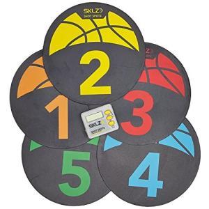 SKLZ(スキルズ) バスケットボール練習用 トレーニング器具 コートマーカー デジタルタイマー付き 004329 日本正規品