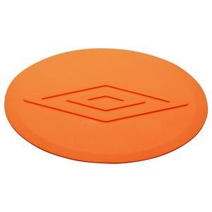 UMBRO(アンブロ) サッカー フラットマーカー 10個入り UJA7470 オレンジ(ORG)