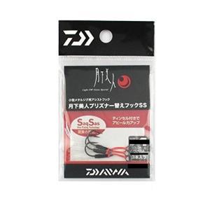 ダイワ(Daiwa) メタルジグ替えフック アジング メバリング 月下美人 白 #6 プリズナー用 ...