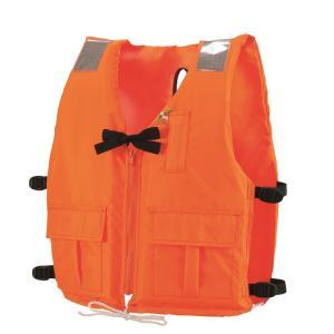 ライフジャケット 小型船舶用 DX-5 オレンジ 救命胴衣  新基準  津波水害対策 防災
