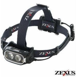 フジ LED ZEXUS ヘッドライト ZX-R700 充電式(フィッシング 釣り つり アウトドア led キャンプ用品 ヘッド ライト 作業用 防|turidaisuki