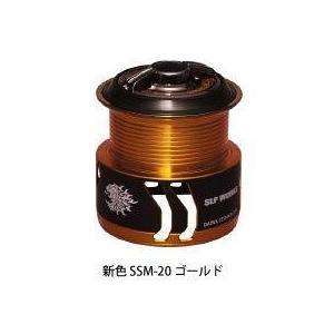 サンライン・スペシャリストスプールSSM-20 ゴールド|turidaisuki