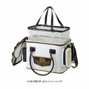 サンライン・フィッシュキープバッグ SFB-0804 インナーメッシュBOX装備 キーパーバッカン 活かしバッカン トーナメント 競技(トーナメンター|turidaisuki