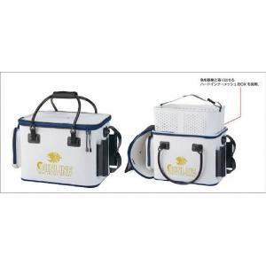 サンライン・フィッシュキープバッグ SFB-0805 (ハードインナー装備)( キーパーバッカン 活かしバッカン トーナメント 競技トーナメンター 釣|turidaisuki