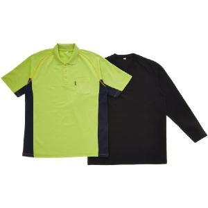 がまかつ(Gamakatsu) レイヤードポロシャツ GM-3277 ライムグリーン(フィッシング ウエア フィッシングウェア 磯釣り シャツ UVカ|turidaisuki