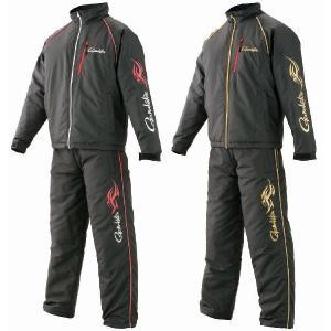 がまかつ シンサレート(TM)ウォームスーツ GM-3440ブラック/レッド(インナースーツ ウォームアップ フィッシング ウェア 磯釣り ウエア 防|turidaisuki