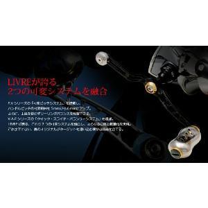 メガテック LIVRE(リブレ)ハンドルユニオン52-58Finoノブ シマノS2&ダイワ(釣り スピニングリール 釣り具 スピニング リール ハンド|turidaisuki|02