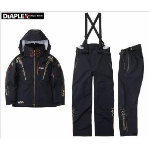 サンラインステータスディアプレックス・オールウェザースーツ SUW-1809 SLLサイズ(レインウェア フィッシングウェア レインスーツ サンライ|turidaisuki