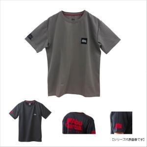 アブガルシア(ABU) フロッキー速乾ドライTシャツ ブラック M|turiguno-fishers
