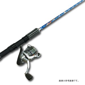 フィッシャーズ(FISHERS) オールラウンダーセット 7.6Ft ブルー turiguno-fishers