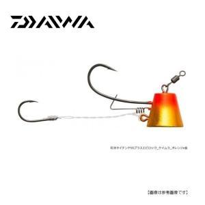 ダイワ(DAIWA)  紅牙タイテンヤ・SS エビロック 3枚セット 6号 ケイムラオレンジ金 【メール便配送可】|turiguno-fishers
