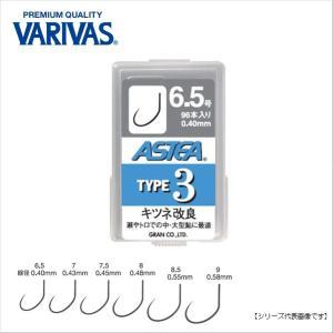 バリバス(VARIVAS) アステア タイプ3 7.5号 【メール便配送可】|turiguno-fishers