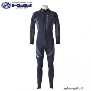 双進(リバレイ) RBB ウエットスーツ2 8779 ブラック×チャコール Lサイズ|turiguno-fishers