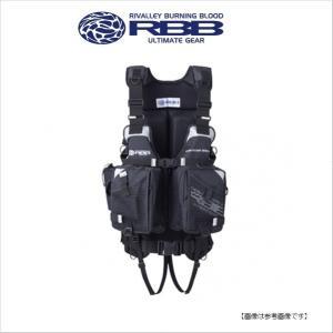 双進(SOSHIN) RBB ウェイディングベストLIMITED V(5)-ハイフロート ブラック 【送料無料】|turiguno-fishers
