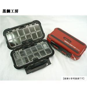 黒鯛工房 オリジナルタックルケース赤|turiguno-fishers