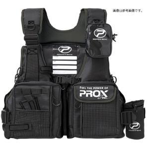 プロックス(PROX) フローティングゲームベスト 大人用S(ブラック/ブラック) ライフジャケット|turiguno-fishers