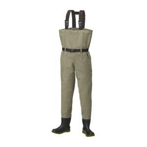 プロックス(PROX) テフロンポリエステルウェダー(チェスト/フェルトスパイク) 3L/4L 28-29.5cm|turiguno-fishers
