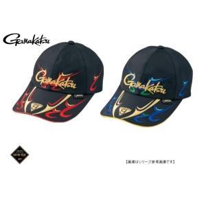 がまかつ(GAMAKATSU)  ゴアテックスロングバイザーキャップ GM9819 ブラック/レッド L|turiguno-fishers