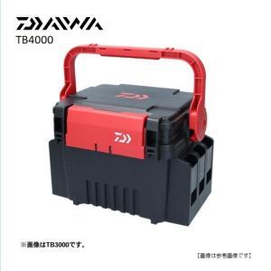 ダイワ(DAIWA) タックルボックス TB4000  BK/RD turiguno-fishers