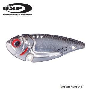 オーエスピー(OSP) オーバーライド 1/4oz OR07 シルバーミラーシャッド 【メール便配送可】 turiguno-fishers