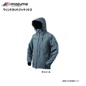 マズメ(MAZUME) ウインドカットジャケット3 チャコール ・サイズ/M