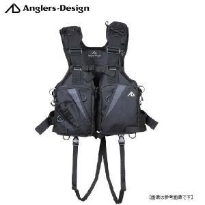 アングラーズデザイン(ANGLERS DESIGN) オールラウンドベスト ブラック RS-2|turiguno-fishers