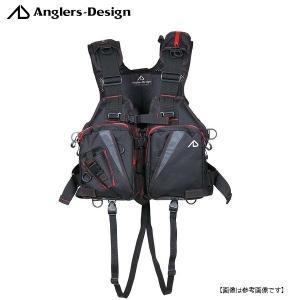 アングラーズデザイン(ANGLERS DESIGN) オールラウンドベスト レッドステッチ RS-2|turiguno-fishers