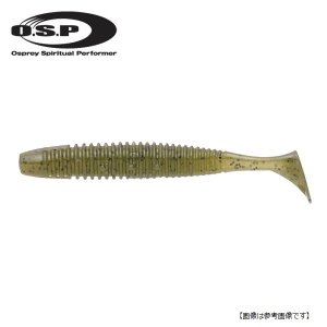 オーエスピー(OSP) HPシャッドテール 2インチ W001 ウォーターメロンペッパー 【メール便配送可】|turiguno-fishers