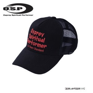 オーエスピー(OSP) OSPスタンダードキャップ モデルヘンプ(HEMP) ブラック/レッド|turiguno-fishers