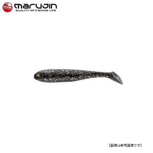 マルジン UKシャッドワーム(ユーケーシャッドワーム) 3.5インチ #3 流川ブラック 【メール便配送可】|turiguno-fishers