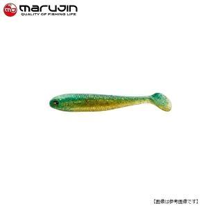 マルジン UKシャッドワーム(ユーケーシャッドワーム) 3.5インチ #6 グリ金 【メール便配送可】|turiguno-fishers