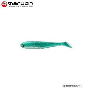 マルジン UKシャッドワーム(ユーケーシャッドワーム) 3.5インチ #7 デイブルー 【メール便配送可】|turiguno-fishers