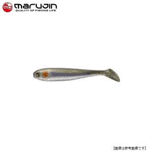 マルジン UKシャッドワーム(ユーケーシャッドワーム) 3.5インチ #9 リアルトウゴロウ 【メール便配送可】|turiguno-fishers