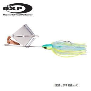 オーエスピー(OSP) バズ ゼロツー ビート  3/8oz S61 ゴールドチャートブルーバック 【メール便配送可】|turiguno-fishers