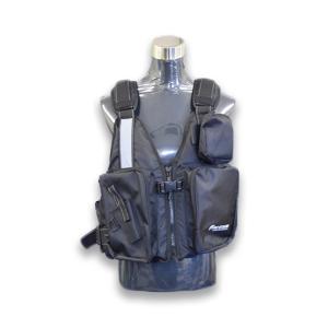 ジェネシス(GENESIS) ゲームフローティングベスト カラー・ブラック FV-1051|turiguno-fishers