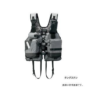 【増税前ラストSALE対象品】シマノ XEFOゲームベスト タングステン フリー ライフジャケット VF-278R 【送料無料】|turiguno-fishers