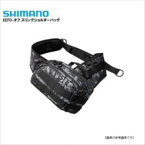 シマノ(SHIMANO) ゼフォー(XEFO)・タフ スリングショルダーバッグ ブラックウィードカモ S turiguno-fishers