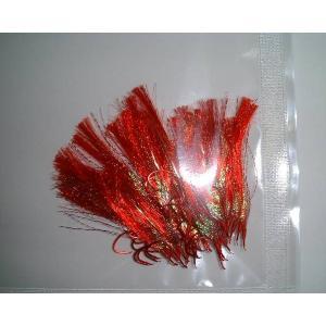 商品説明  毛鈎 ムツ13号 オーロラ 50本 です。  ムツ13号針に、オーロラ皮を使い、 各色フ...